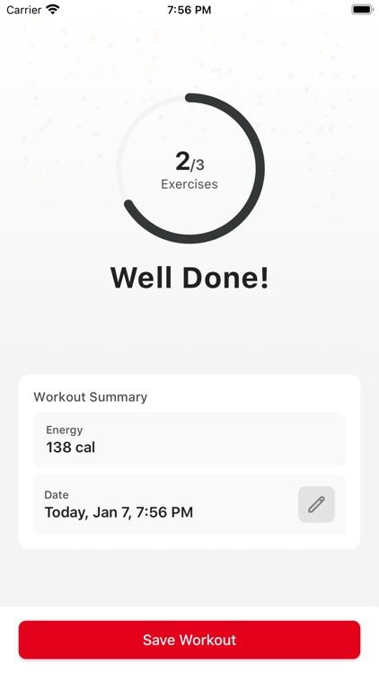 AeroFitt Fitness app screenshot-6