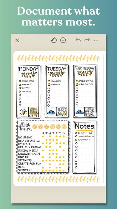 Zinnia Journal & Planner screenshot 1