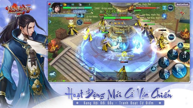 Võ Lâm Truyền Kỳ Mobile - VNG screenshot-4