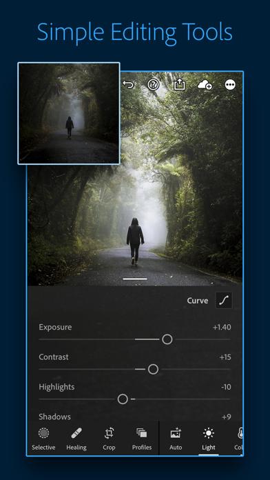 cancel Adobe Lightroom Photo Editor app subscription image 1