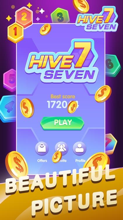 Hive 7:Hexa Puzzle