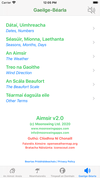 Aimsir - The Weather in Irishのおすすめ画像7