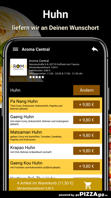 Aroma Central Hofheim screenshot 6