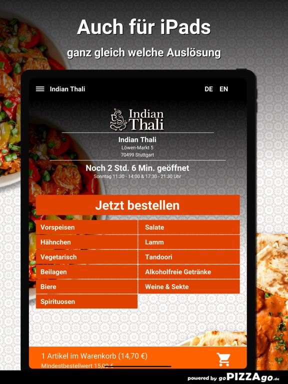 Indian Thali Stuttgart screenshot 7