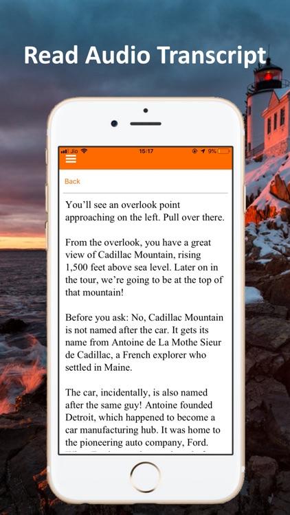 Acadia National Park GPS Guide screenshot-5