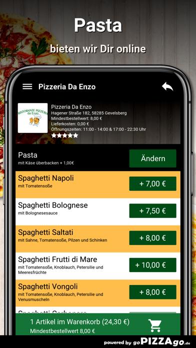 Pizzeria Da Enzo Gevelsberg screenshot 5