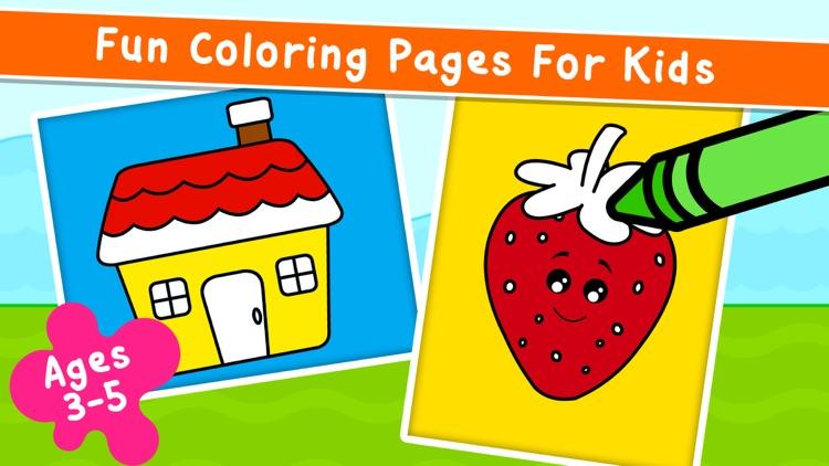 Coloring Games: for Kids 2-6! screenshot-0