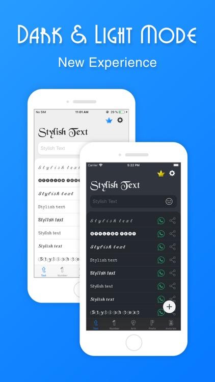 Stylish Text - Fonts, Keyboard screenshot-6