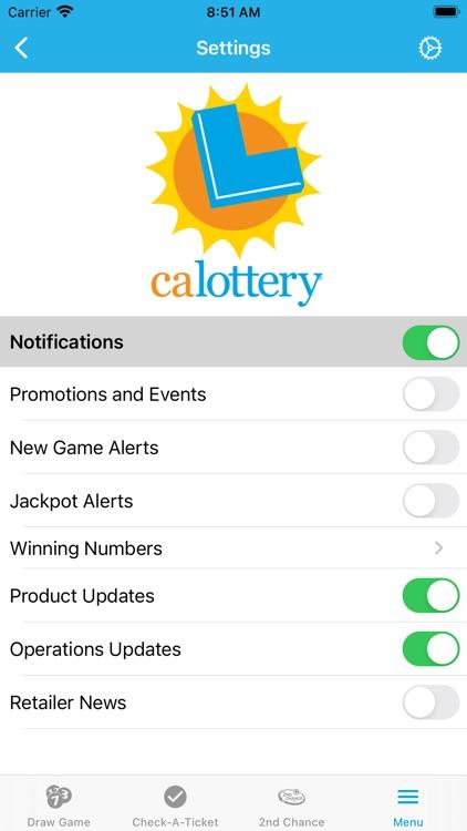 CA Lottery Official App screenshot-9