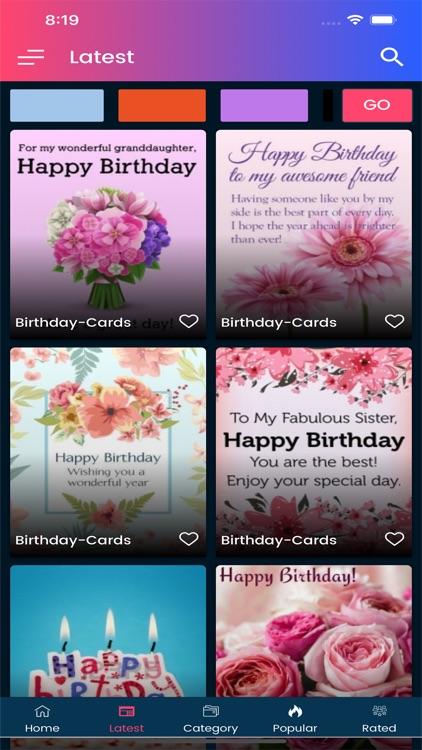 Happy Birthday Images GIF screenshot-6
