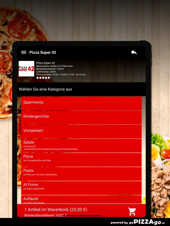 Pizza Super 42 Gera screenshot 8