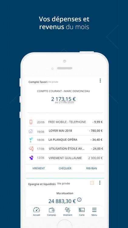 Banque Tarneaud pour iPhone screenshot-3