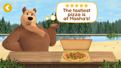 Screen Shot Masha and the Bear Pizzeria! 6