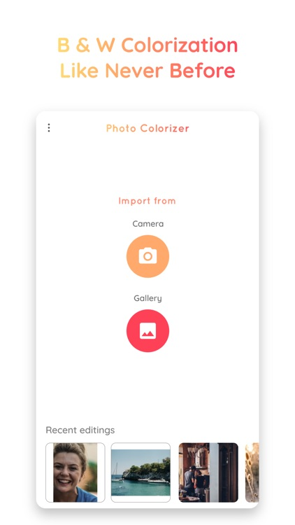 Photo Colorizer AI -B&W Photos