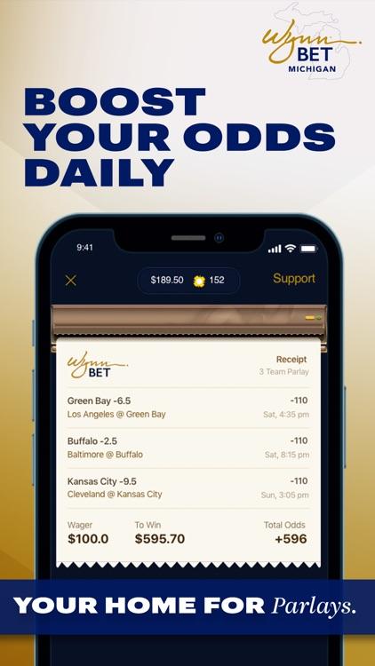 WynnBET:MI Sportsbook & Casino screenshot-5
