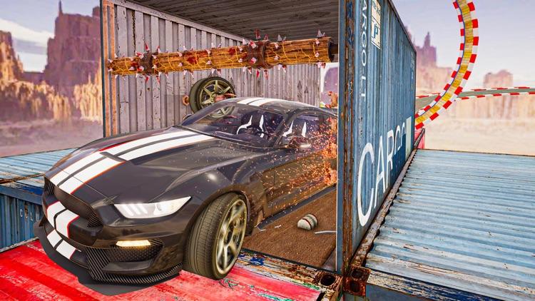 Racing Car Impossible Stunts screenshot-3