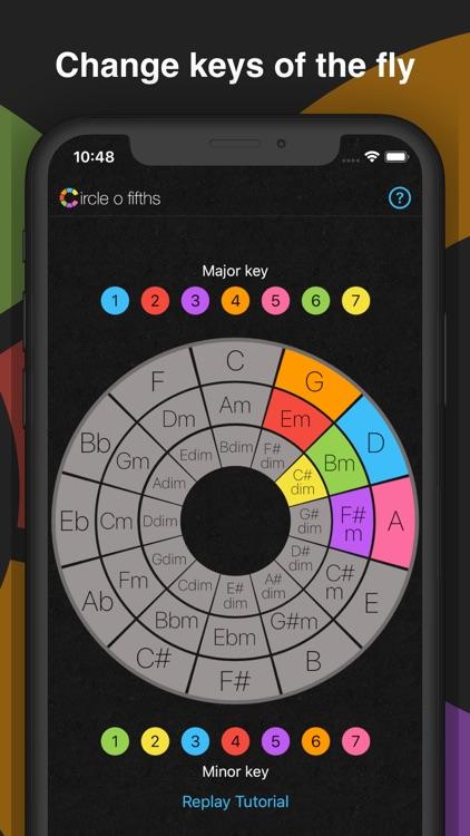 Circle o Fifths: Music Theory screenshot-3