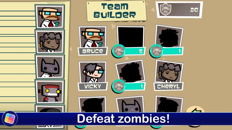Zombie Match Defense screenshot-3