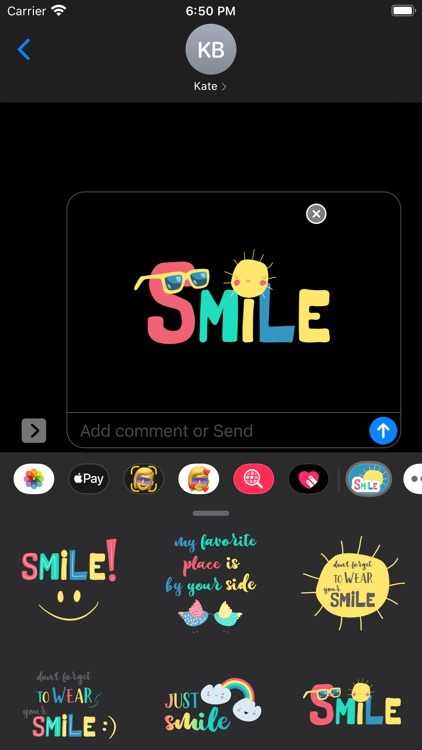 Wear Your Smile Sticker Pack screenshot-6