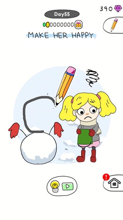 Draw Happy Puzzle