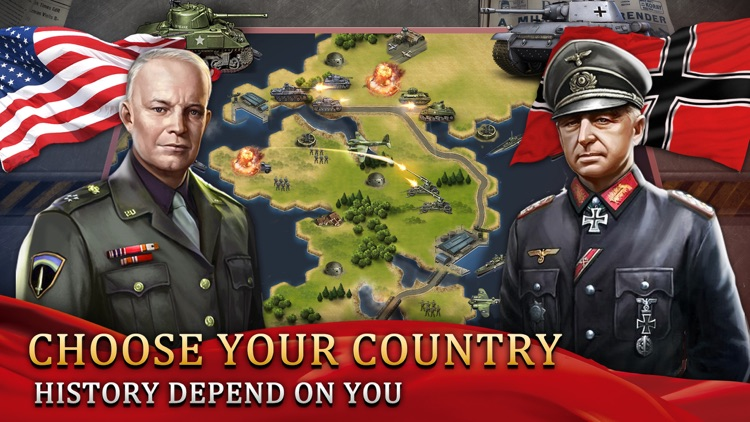 WW2: World War Strategy Games