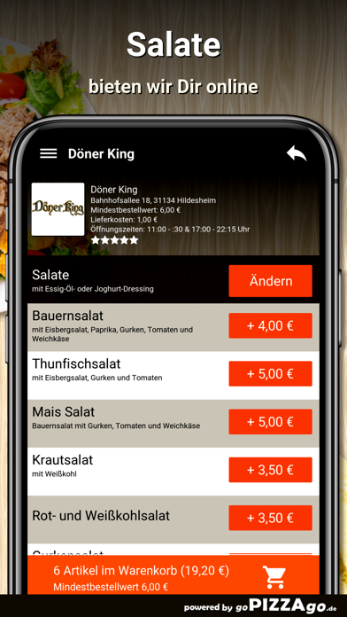 Döner King Hildesheim screenshot 5