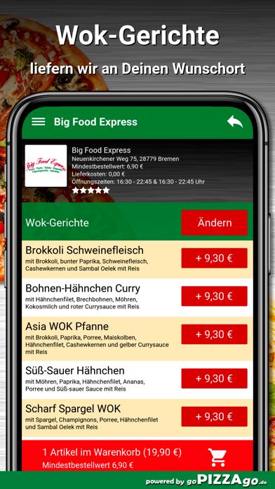 Big Food Express Bremen screenshot 6