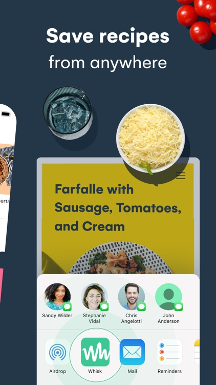 Whisk: Recipes & Meal Planner