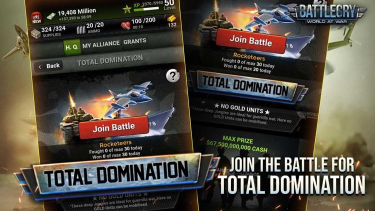 BattleCry: World War Game screenshot-5