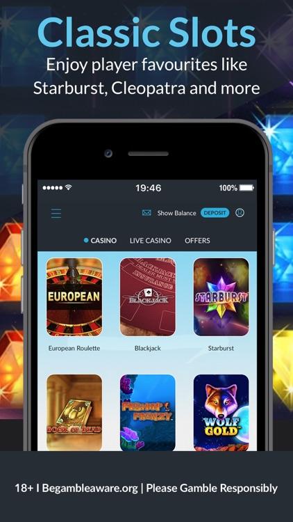BetVictor: Online Casino Games