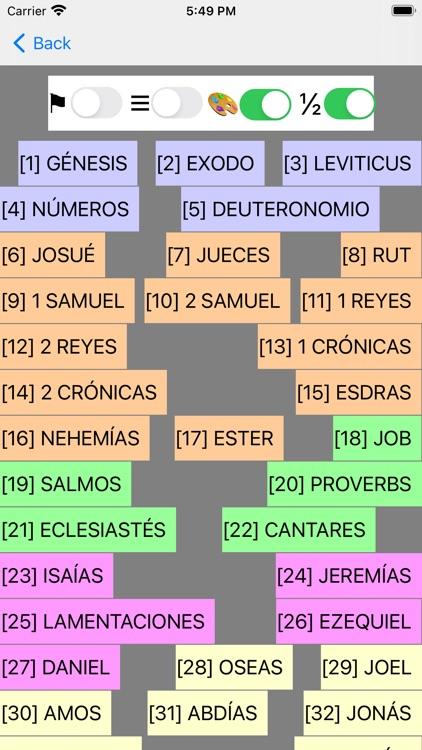 Español Santa Biblia (Modern) screenshot-8