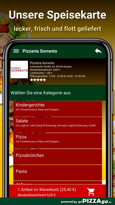 Pizzeria Sorrento Kerpen screenshot 4