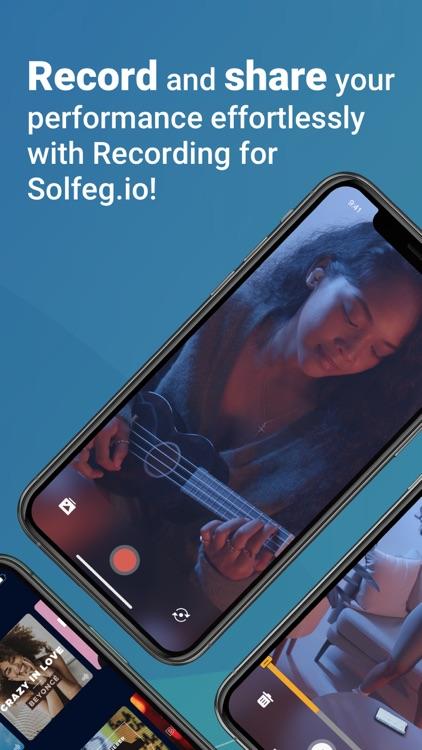 Recording for Solfeg.io