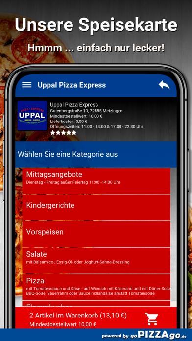 Uppal Pizza Express Metzingen screenshot 4