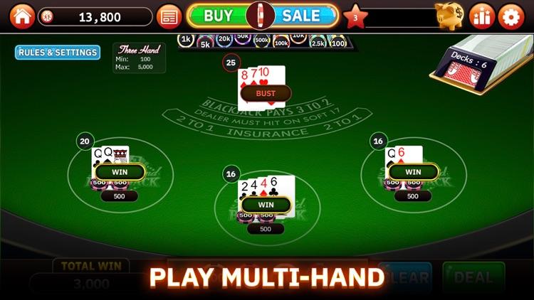 Blazing Bets Blackjack 21 screenshot-4