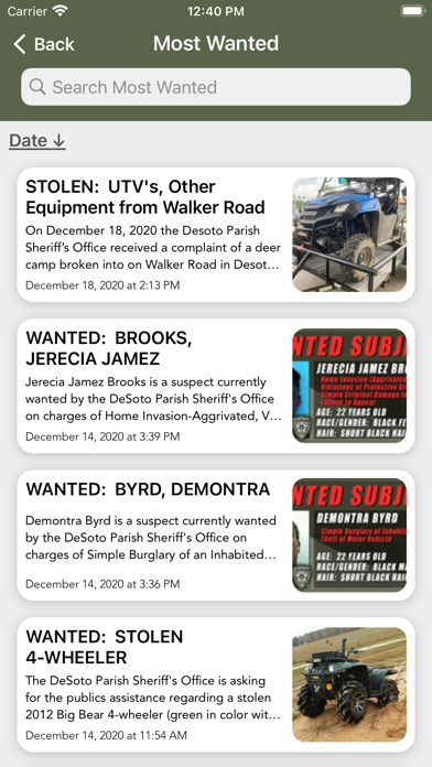 messages.download DeSoto Parish Sheriff's Office software