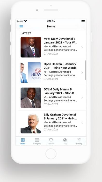 Open Heaven Daily Devotional screenshot-9