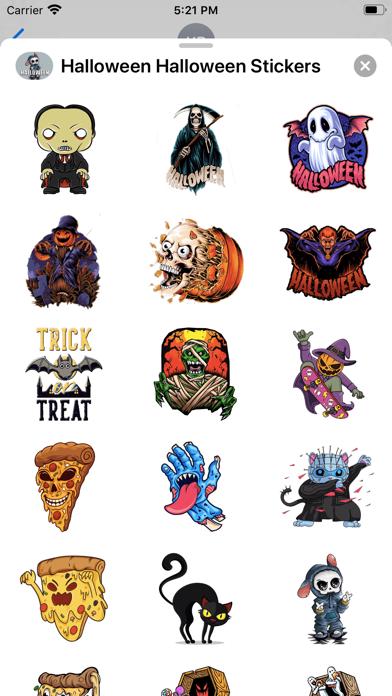 Halloween Halloween Stickers screenshot 2