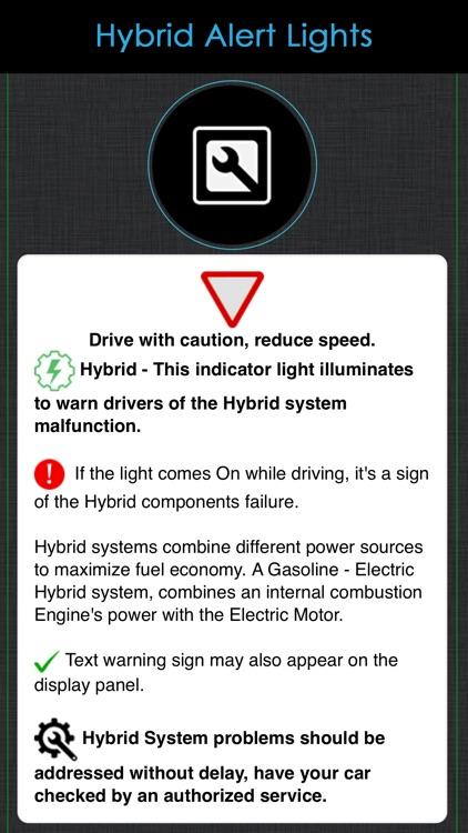 Nissan Warning Lights Meaning screenshot-7