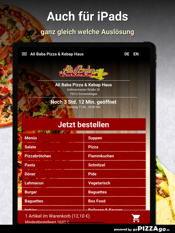 Ali Baba Pizza Emmendingen screenshot 7