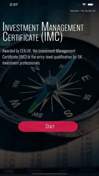 IMC Investment Management Exam screenshot 1