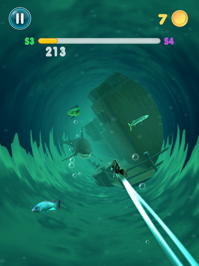 Blue Swirl, game for IOS