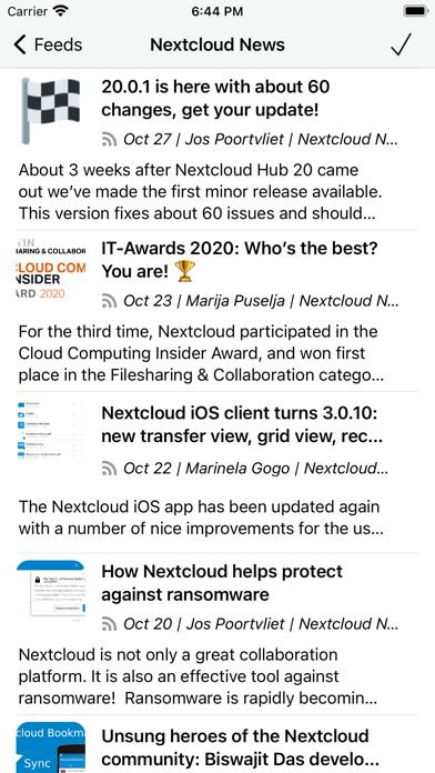 CloudNews - Feed Readerのおすすめ画像2