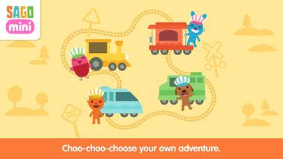 Sago Mini Train Adventure screenshot 1