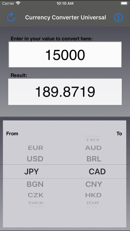 Currency Converter Universal screenshot-3