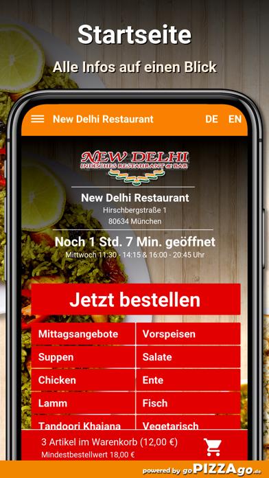 New Delhi Restaurant München screenshot 2