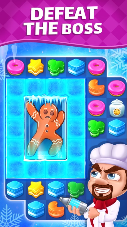 Cake Blast - Match 3 Puzzle screenshot-4