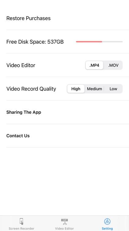 Screen Recorder,Video Editor screenshot-6