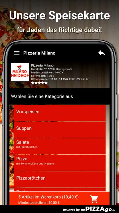 Pizzeria Milano Herzogenrath screenshot 4