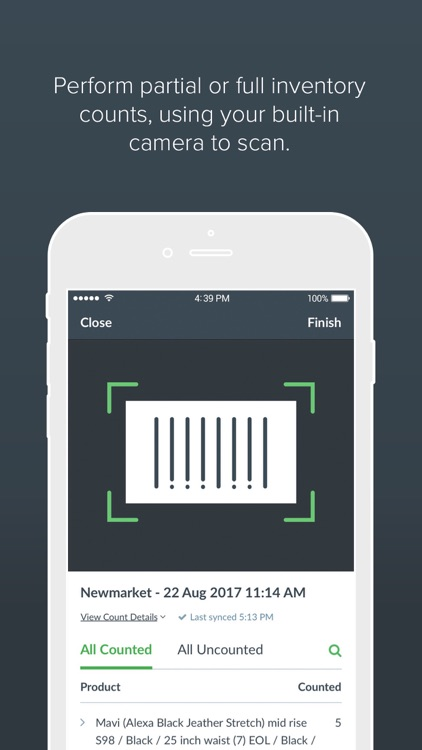 Scanner by Vend